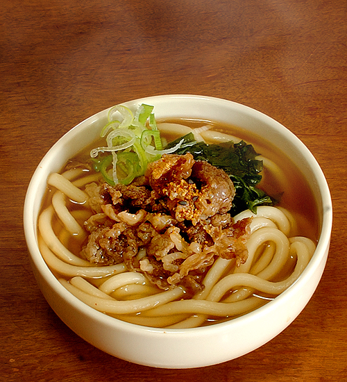 ... udon noodle soup niku udon niku udon with thinly sliced beef niku udon