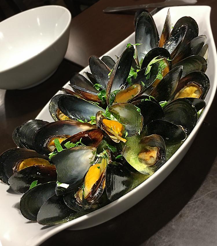 ムール貝のスープ   レシピサイトぷちぐる